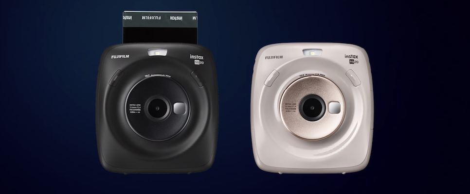FujiFilm's Instax Square SQ20 Combines Modern Technology With A Retro Feel