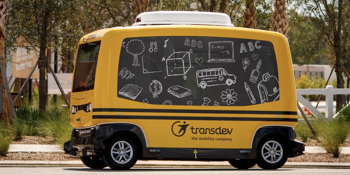 Transdev Ordered To Stop Driverless School Bus Testing