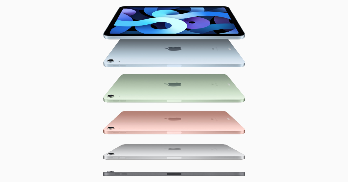 New iPad Air 2020 – Bigger Screen, More Power, New Colors