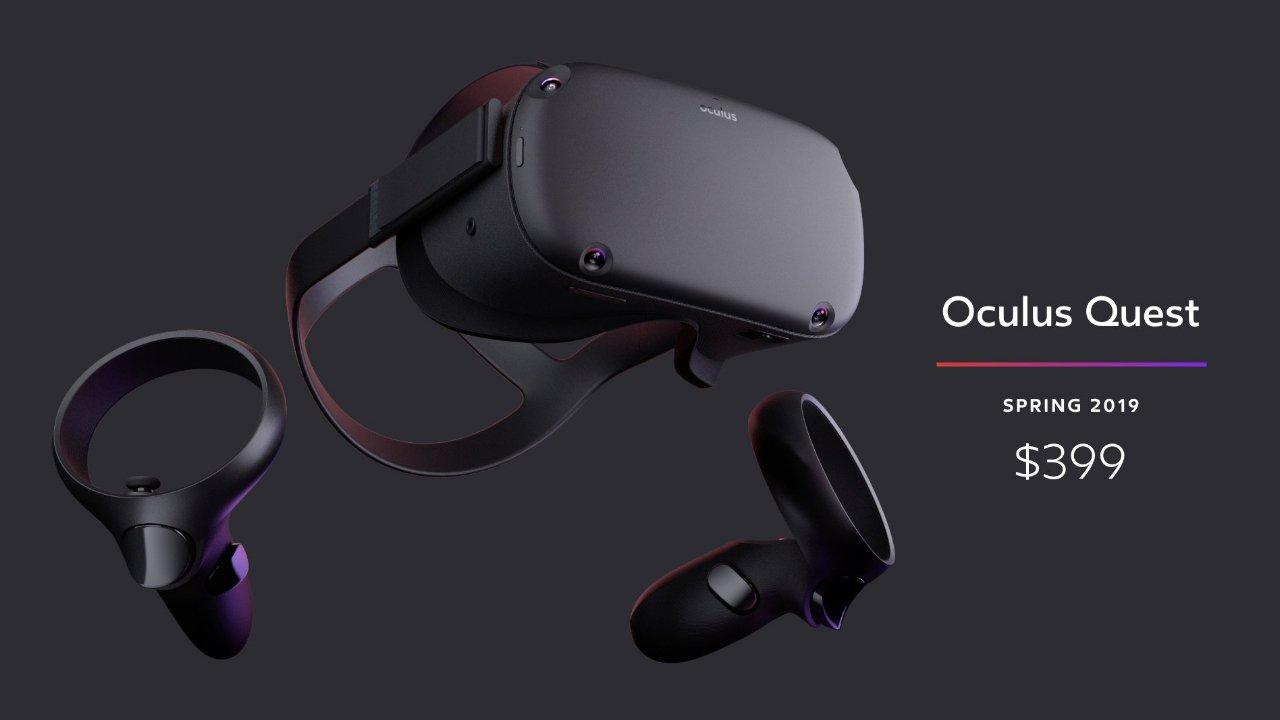 Facebook Announces New Wireless Oculus Quest
