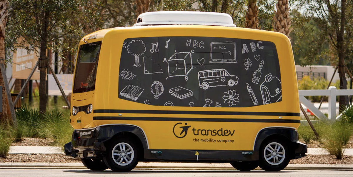 Transdev Ordered To Stop Driverless School Bus Testing
